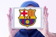 Logo del club di calcio del FC Barcelona Immagine Stock Libera da Diritti