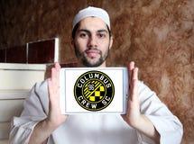 Logo del club di calcio dello Sc di Columbus Crew Fotografia Stock Libera da Diritti