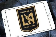 Logo del club di calcio di Los Angeles FC Fotografie Stock Libere da Diritti