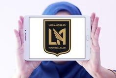 Logo del club di calcio di Los Angeles FC Immagini Stock Libere da Diritti