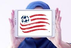 Logo del club di calcio di rivoluzione della Nuova Inghilterra Fotografia Stock Libera da Diritti