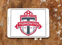 Logo del club di calcio di Toronto FC Fotografie Stock Libere da Diritti