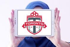 Logo del club di calcio di Toronto FC Fotografie Stock