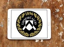 Logo del club di calcio di Udinese Calcio Fotografie Stock