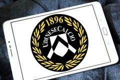Logo del club di calcio di Udinese Calcio Fotografia Stock Libera da Diritti