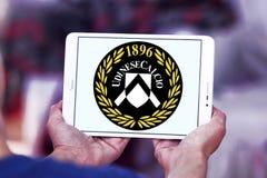 Logo del club di calcio di Udinese Calcio Immagini Stock Libere da Diritti