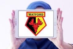 Logo del club di calcio di Watford Immagini Stock