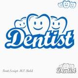 Logo del dentista Fotografie Stock Libere da Diritti