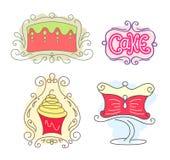Logo del dolce Fotografie Stock