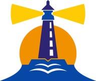 Logo del faro Immagine Stock Libera da Diritti