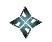 Logo del fiore Fotografia Stock