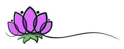 Logo del fiore illustrazione vettoriale