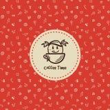 Logo del forno Fotografie Stock