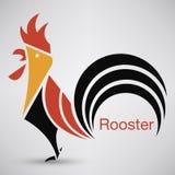 Logo del gallo Illustrazione di vettore Illustrazione di Stock