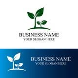 Logo del germoglio illustrazione di stock