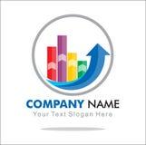 Logo del grafico Immagine Stock