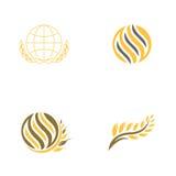 Logo del grano Immagine Stock Libera da Diritti