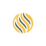 Logo del grano Fotografie Stock