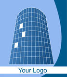 Logo del grattacielo Illustrazione di Stock