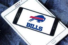 Logo del gruppo di football americano di Buffalo Bills Fotografia Stock