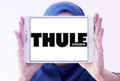 Logo del gruppo di Thule Fotografie Stock