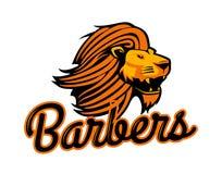 Logo del leone, illustrazione di vettore Fotografie Stock Libere da Diritti