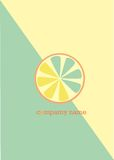 Logo del limone illustrazione di stock