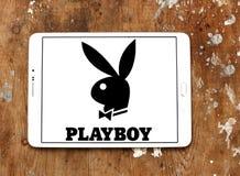 Logo del playboy Fotografie Stock
