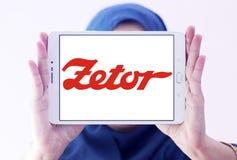 Logo del produttore dei trattori di Zetor Fotografia Stock Libera da Diritti