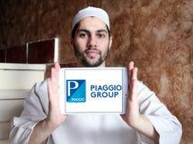 Logo del produttore dell'autoveicolo di Piaggio Fotografia Stock