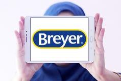 Logo del produttore di Breyer fotografie stock libere da diritti