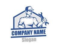 Logo del riparatore Fotografie Stock Libere da Diritti