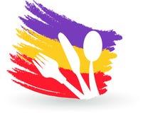 Logo del ristorante illustrazione vettoriale