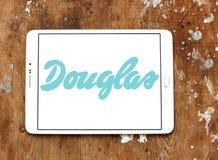 Logo del rivenditore dei cosmetici di Douglas Immagini Stock Libere da Diritti