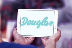 Logo del rivenditore dei cosmetici di Douglas Immagine Stock Libera da Diritti