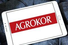 Logo del rivenditore di Agrokor Immagini Stock