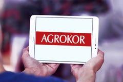Logo del rivenditore di Agrokor Immagine Stock Libera da Diritti