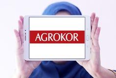 Logo del rivenditore di Agrokor Fotografia Stock