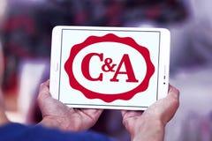 Logo del rivenditore di C&A Fotografie Stock