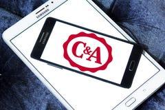 Logo del rivenditore di C&A Fotografia Stock Libera da Diritti