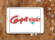 Logo del rivenditore di Carpetright Fotografie Stock Libere da Diritti