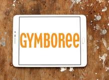 Logo del rivenditore di Gymboree Immagine Stock Libera da Diritti