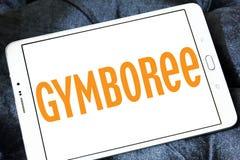 Logo del rivenditore di Gymboree Immagini Stock Libere da Diritti