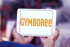Logo del rivenditore di Gymboree Fotografia Stock