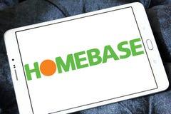 Logo del rivenditore di Homebase Fotografia Stock Libera da Diritti