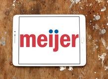 Logo del rivenditore di Meijer Fotografia Stock Libera da Diritti