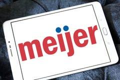 Logo del rivenditore di Meijer Fotografia Stock