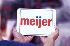 Logo del rivenditore di Meijer Immagine Stock Libera da Diritti