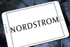 Logo del rivenditore di Nordstrom Fotografie Stock