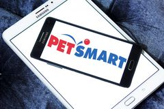 Logo del rivenditore di PetSmart Fotografie Stock